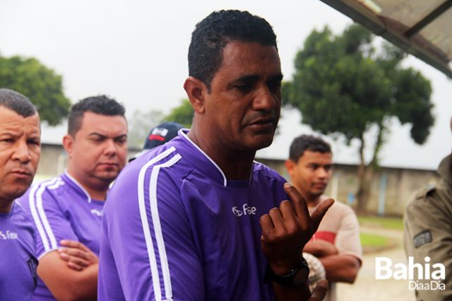 Ratinho deixa o comando da seleção de Itabela. (Foto: Arquivo/BAHIA DIA A DIA)
