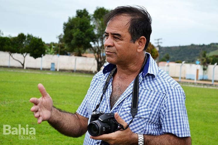 Coronel Diniz, diretor de vistorias da FBF. (Foto: Alex Gonçalves/BAHIA DIA A DIA)