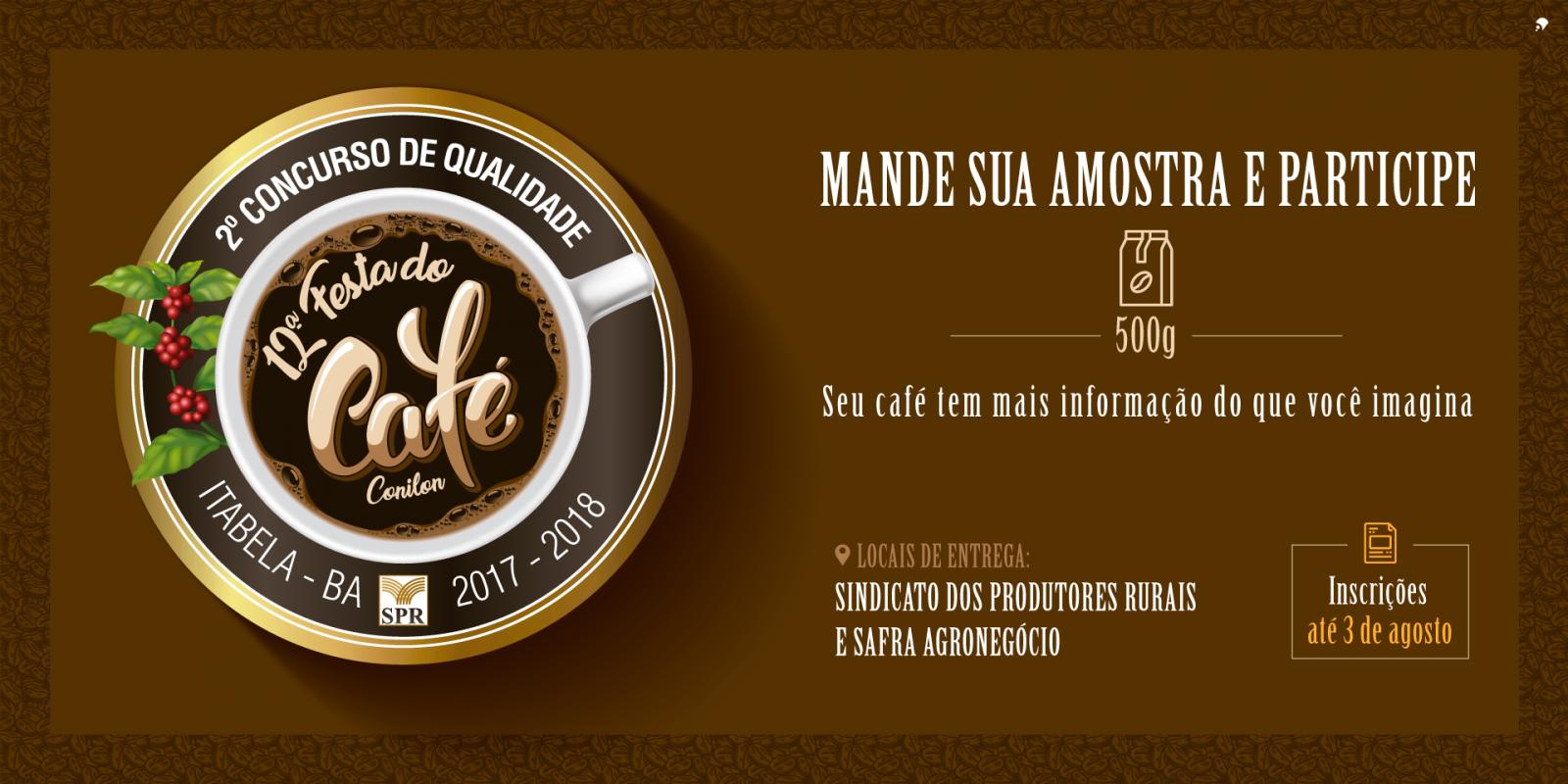 Concurso de Qualidade do Café Conilon está com inscrições abertas