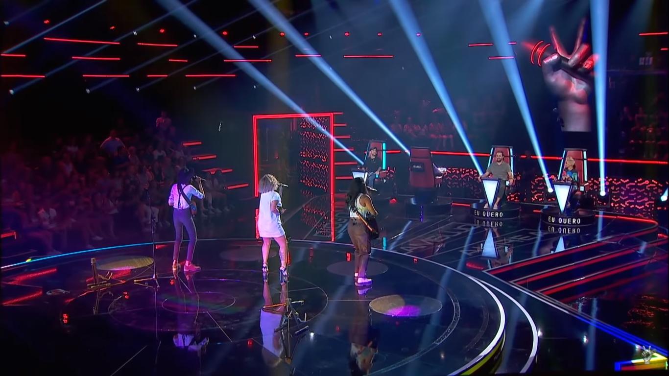 Cantora de Eunápolis conquista jurados no The Voice Portugal 2