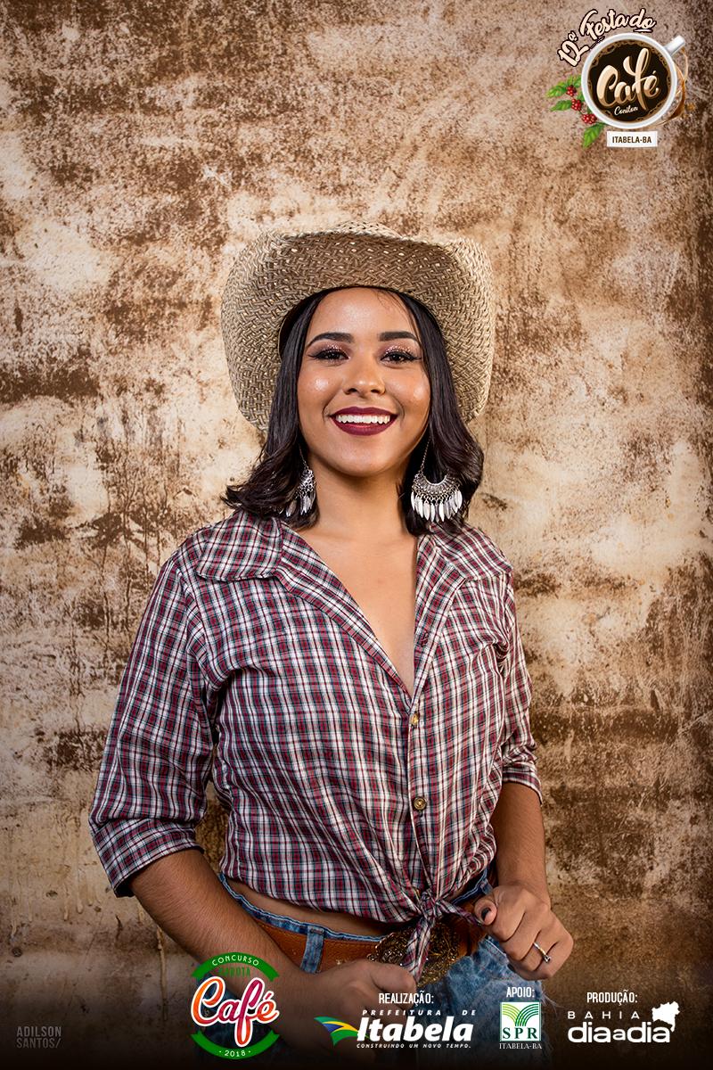 Débora Castro, 17 anos. Candidata a Garota Café 2018. (Foto: Adilson Santos)