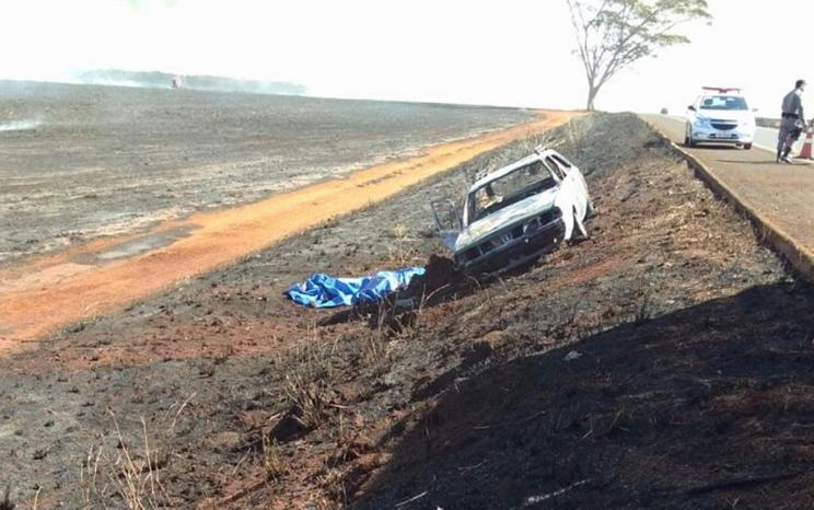 Incêndio pode ter sido criminoso, diz polícia.