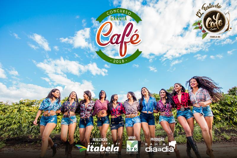 Dez candidatas concorrem ao título de Garota Café 2018. (Foto: Adilson Santos)