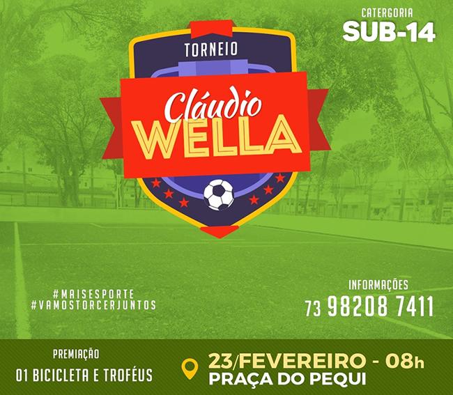 Torneio Cláudio Wella sub-14 acontece neste sábado em Eunápolis ... ce19d5e07840d