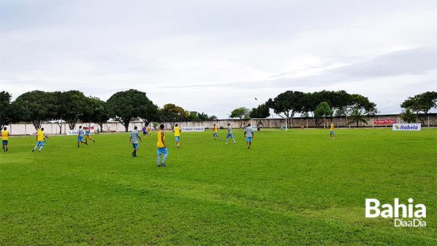 Seleção de Itabela participou de treinos durante toda semana. (Foto: Alex Gonçalves/BAHIA DIA A DIA)