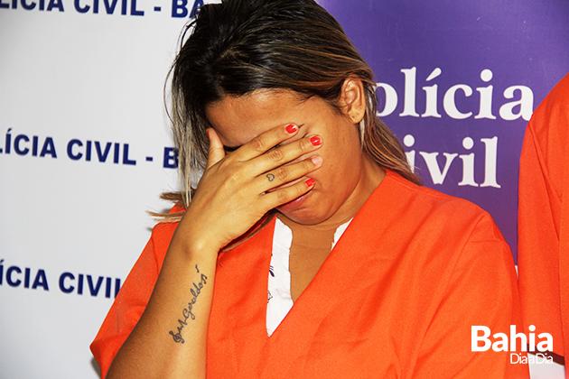 Segundo o delegado, Daniela foi a mandante do crime. (Foto: Alex Gonçalves/BAHIA DIA A DIA)