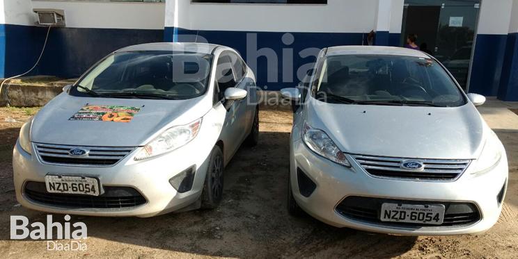 Veículo foi clonado de outro carro semelhante. (Foto: Divulgação/PM)