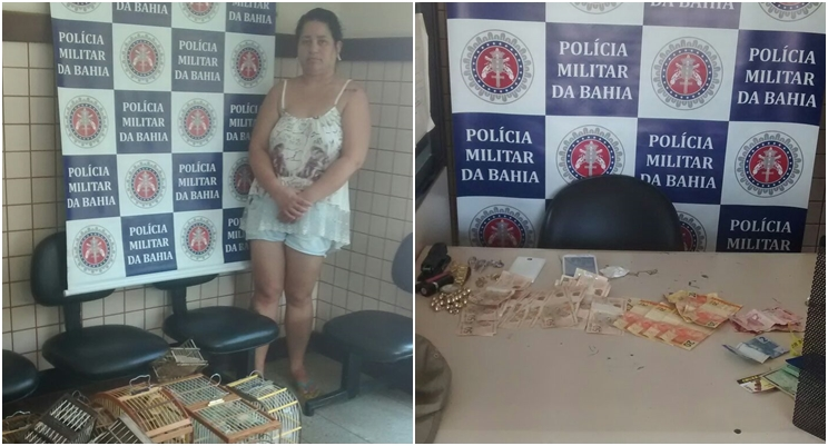 Presa líder do tráfico em Santa Cruz Cabrália. (Foto: Divulgação/PM)