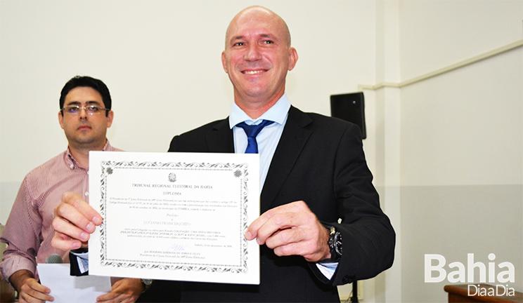 Luciano Francisqueto, prefeito de Itabela. (Foto: BAHIA DIA A DIA)