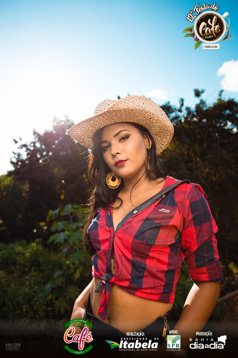 Jeane Araújo, 20 anos. Candidata a Garota Café 2018. (Foto: Adilson Santos)