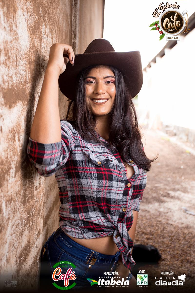 Lívia Sisnandes, 16 anos. Candidata a Garota Café 2018. (Foto: Adilson Santos)