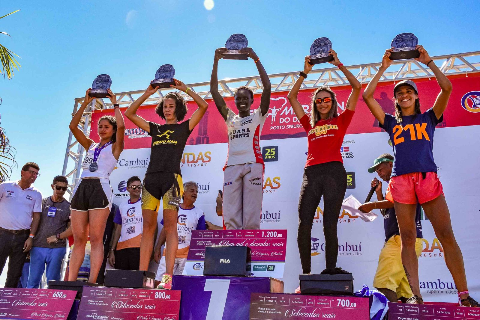 Meia Maratona do Descobrimento bate recorde de competidores em Porto Seguro