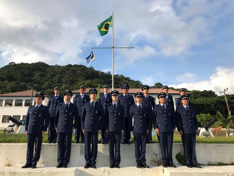 Hugo Francisqueto Carneiro de 25 anos, recebeu a convocação da Força Aérea Brasileira onde se formou na última sexta-feira (27). (Foto: Divulgação)